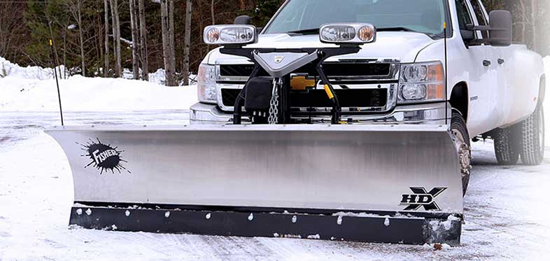 Fisher HDX Snow Plow