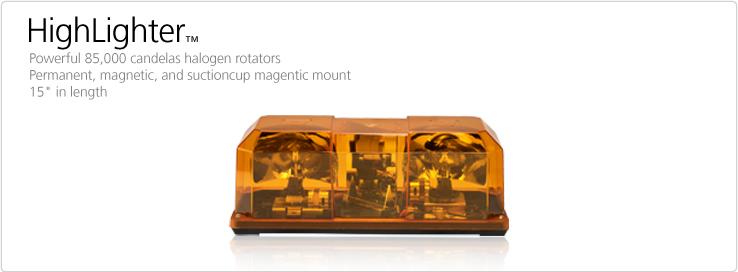 FEDERAL SIGNAL HIGHLIGHTER ROTATOR MINI LIGHT BAR ON SALE