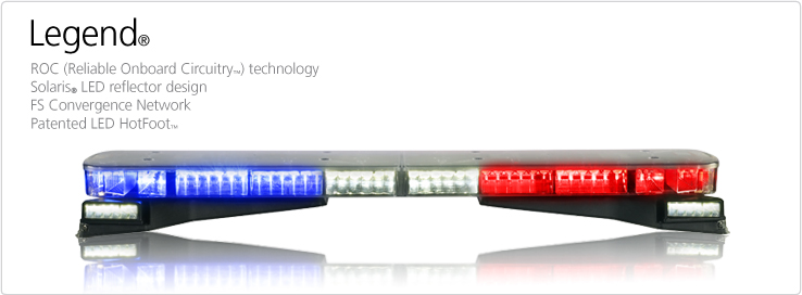 Legend 24 inch mini lightbars federal signal legend light bar aloadofball