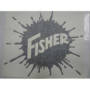 20238 Fisher Decal Splatter 13 1 4x14 1 2