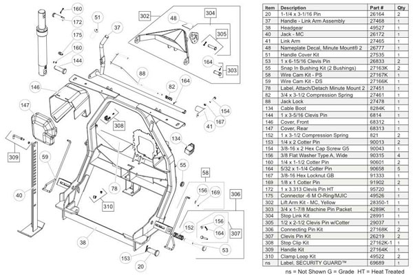 26172 fisher snow plow minute mount jack mc fisher minute mount 1 wiring diagram at cita.asia