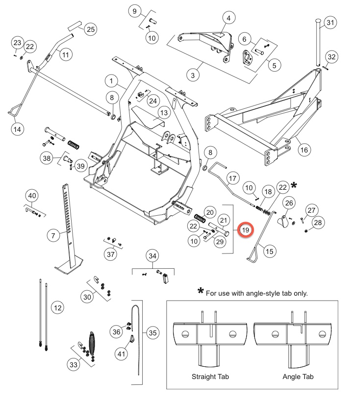 Fisher Snow Plow Connecting Pin Kit 27168k