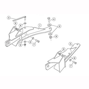 fisher mount kit mm2 gm k2500 3500 1999 2010 Fisher Plow Push Plates 7169 fisher snow plow minute mount kit