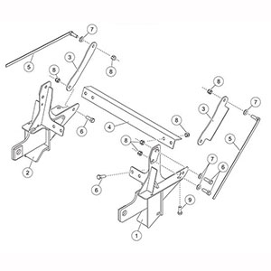 7189 fisher mount kit minutemount dodge ram 1500 2007