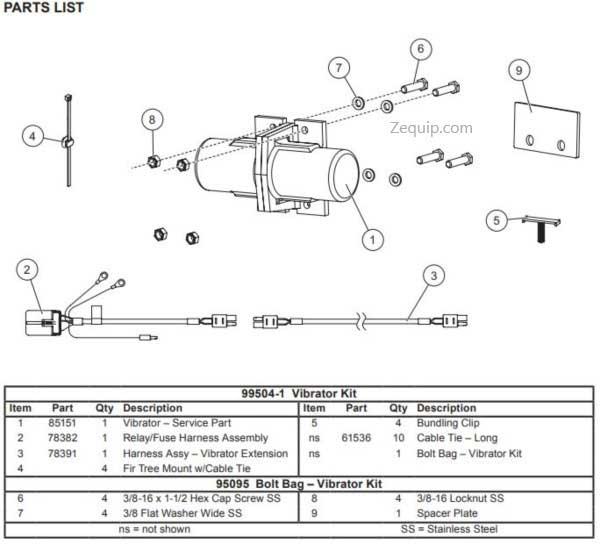Vibrator Kit 99504-1