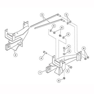 7174 Fisher Snow Plow Minute Mount Kit