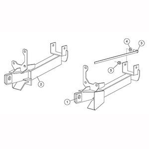 7178 Fisher Snow Plow Minute Mount Kit