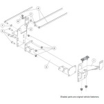 31273 Fisher Homesteader Snow Plow Mount Kit