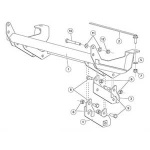 31543-1 Fisher Homesteader Snow Plow Mount Kit