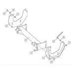 31553 Fisher Homesteader Snow Plow Mount Kit