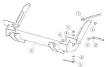 32323 Fisher Homesteader Snow Plow Mount Kit