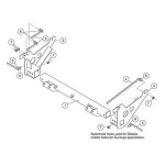 33903 Homesteader / Suburbanite Snow Plow Mount Kit