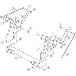 33923 Fisher Homesteader Snow Plow Mount Kit