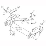 7125 Fisher Snow Plow Minute Mount Kit