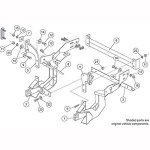7132 Fisher Snow Plow Minute Mount Kit