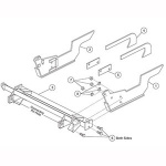 7156-1 Fisher Snow Plow Minute Mount Kit
