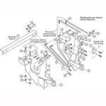 7159 2 Fisher Snow Plow Minute Mount Kit