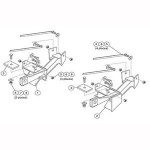7160 Fisher Snow Plow Minute Mount Kit
