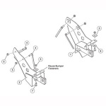 7163 Fisher Snow Plow Minute Mount Kit
