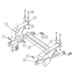 7166 Fisher Snow Plow Minute Mount Kit