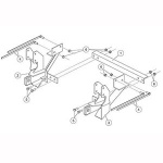 7167 Fisher Snow Plow Minute Mount Kit