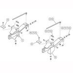 7168 Fisher Snow Plow Minute Mount Kit