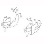 7182 Fisher Snow Plow Minute Mount Kit