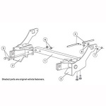 7185 Fisher Snow Plow Minute Mount Kit