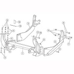 7187 Fisher Snow Plow Minute Mount Kit
