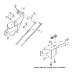7188 Fisher Snow Plow Minute Mount Kit
