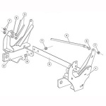 7193 Fisher Snow Plow Minute Mount Kit