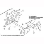 7197-1 Fisher Snow Plow Minute Mount Kit