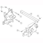 7198 Fisher Snow Plow Minute Mount Kit
