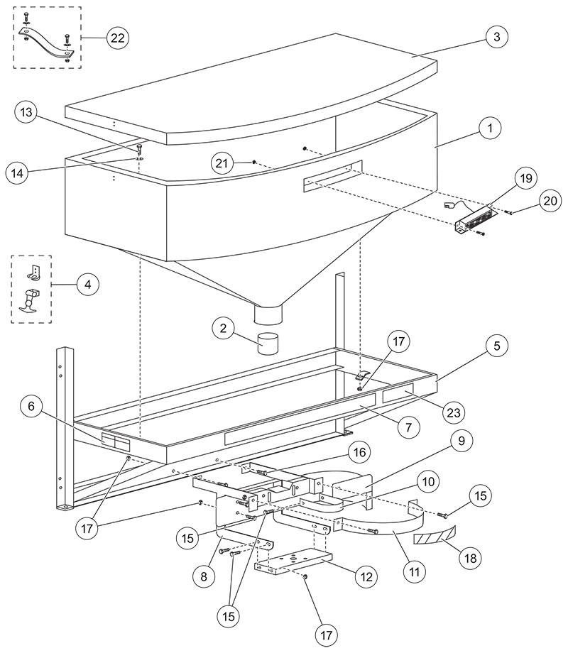 Fisher Model 1000 Hopper Diagram