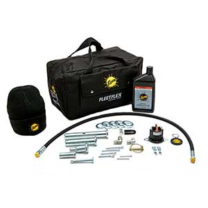 FISHER EMERGENCY PARTS KIT w/BAG (FLEET FLEX) 43500
