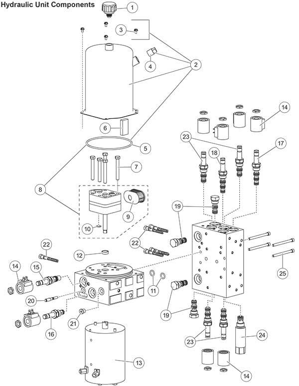 Fisher XLS Power Unit Diagram