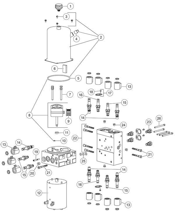 Fisher XtremeV Power Unit Diagram