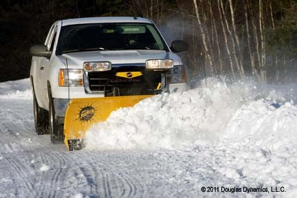 FISHER HT SERIES SNOW PLOW FOR HALF TON TRUCKS