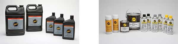 Fisher Hydraulic Fluid & Paint
