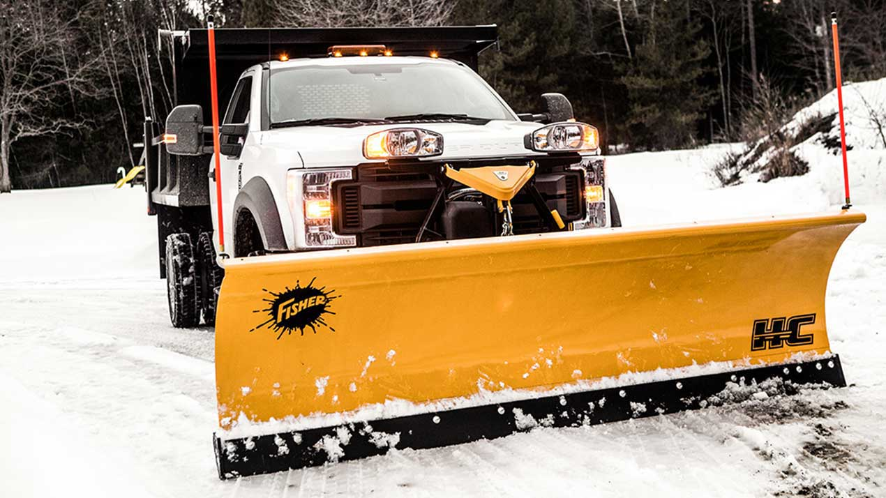FISHER HC SERIES SNOW PLOW