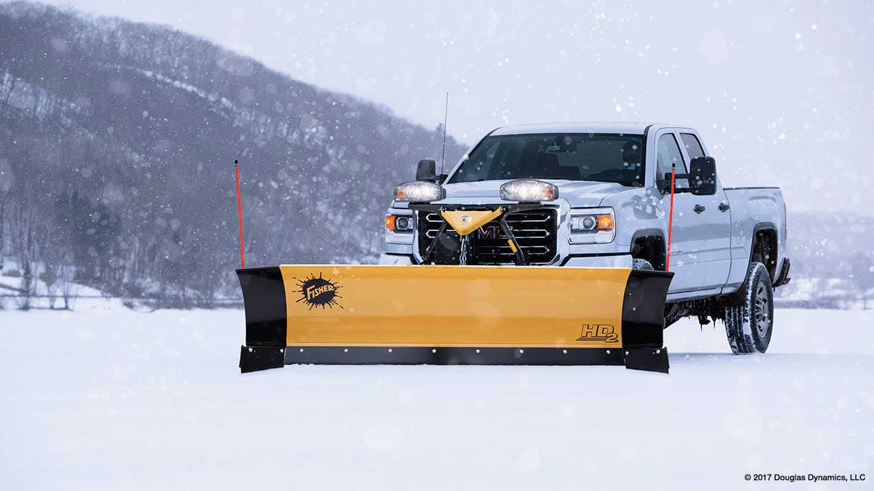 Fisher HD2 Snow Plow