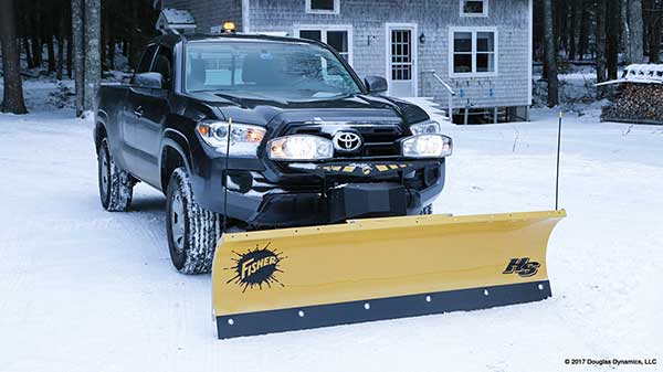 The New Fisher HS Snow Plow