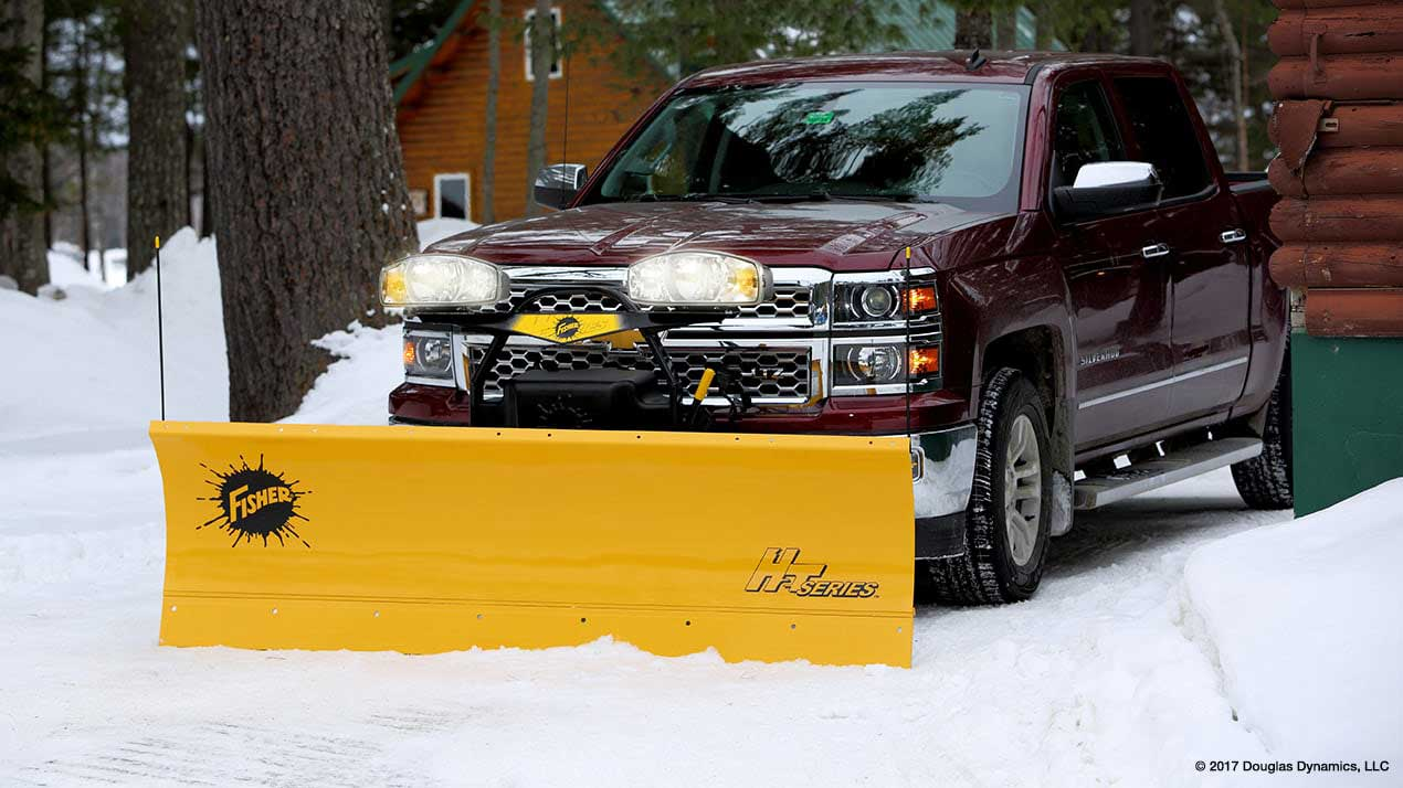 Fisher HT Series Snow Plow