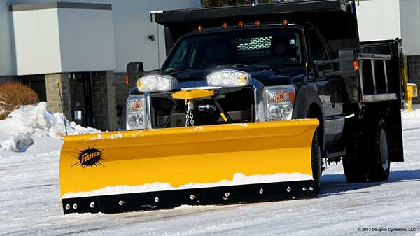 Fisher MC Snow Plow
