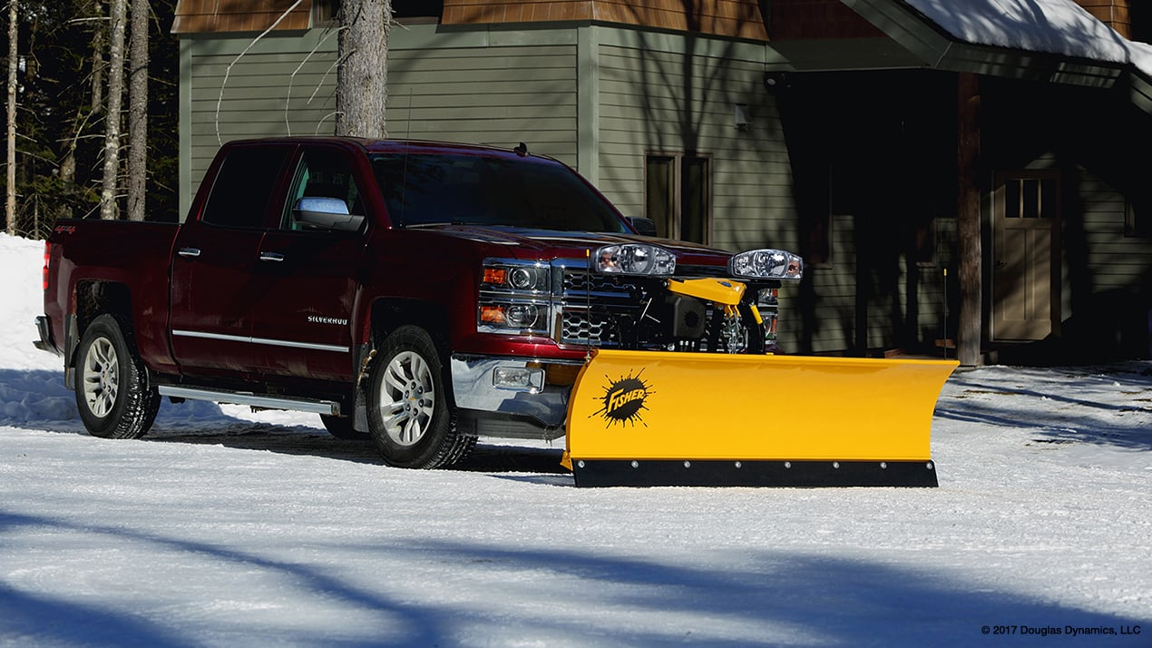 Fisher SD Snow Plow
