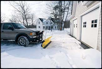 FISHER HOMESTEADER SNOW PLOW