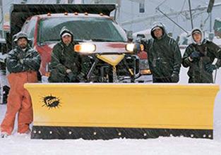 FISHER MUNICIPAL CLASS SNOW PLOW