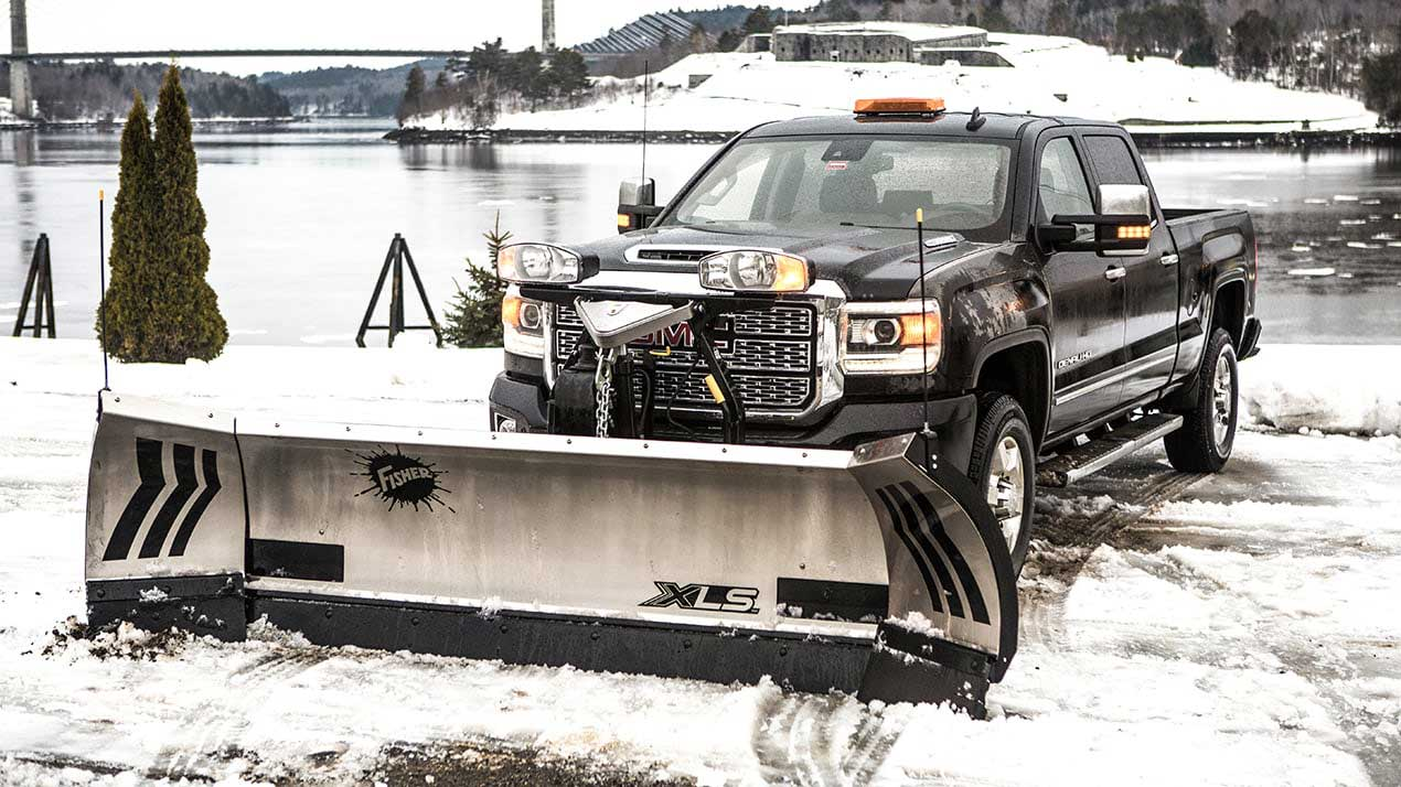 The New & Improved Fisher XLS Snow Plow