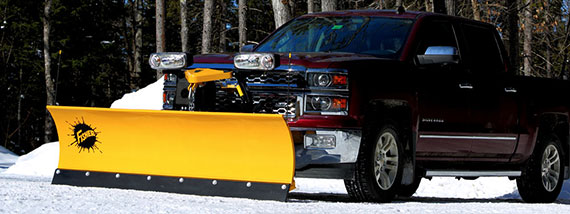 FISHER SD SERIES SNOW PLOW