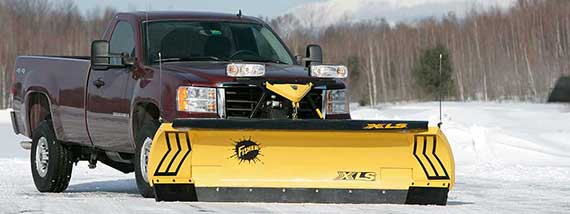 FISHER XLS SNOW PLOW ON SALE AT ZEQUIP.COM